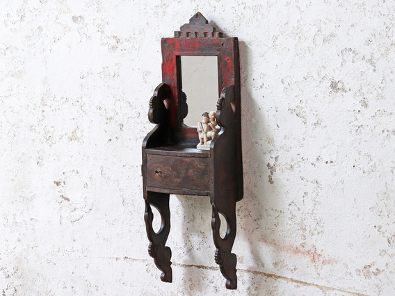 View our  Vintage Rustic Wall Mirror from the   collection