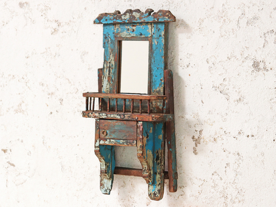 View our  Rustic Shaving Mirror from the  Hallway collection