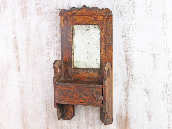 View our  Rustic Wall Mirror from the   collection