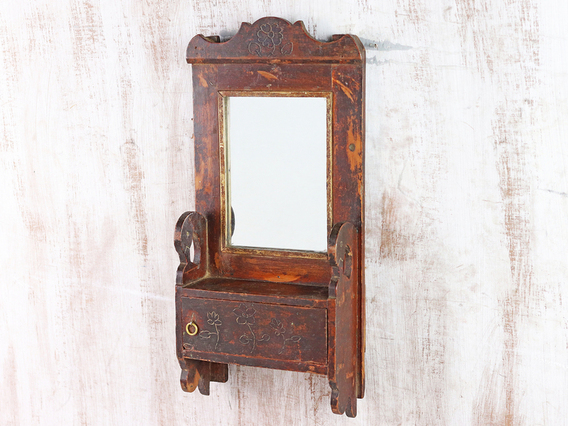 View our  Rustic Wall Mirror from the  Hallway collection