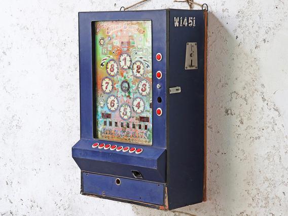 Vintage Slot Machine Cabinet