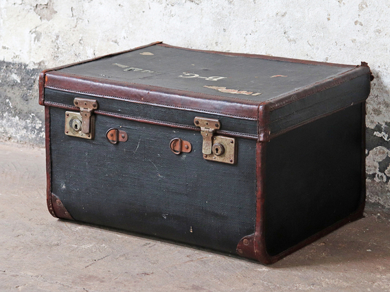 View our  Black Trunk from the  Old Travel Trunks collection