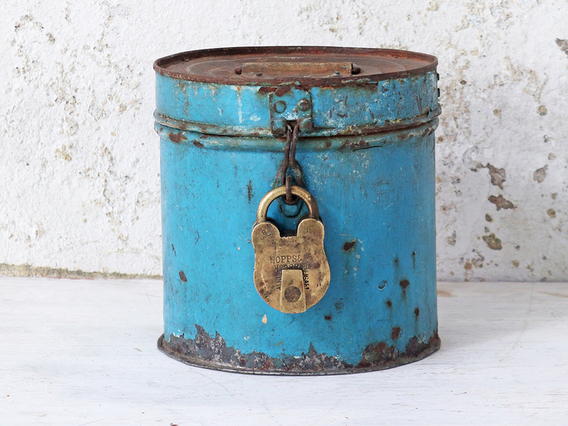 View our  Metal Storage Tin from the  Sold collection