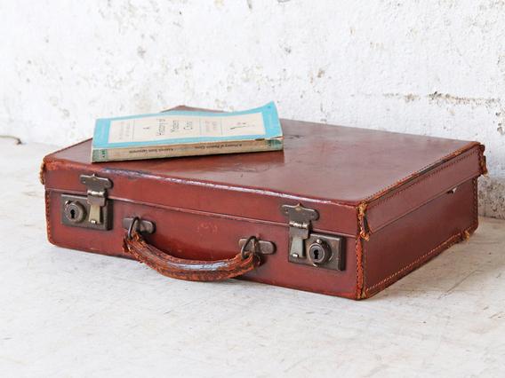Vintage Brown Attache Case