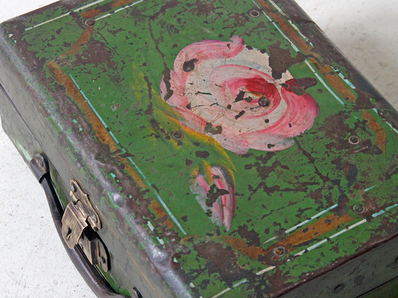 View our  Vintage Metal Suitcase from the   collection
