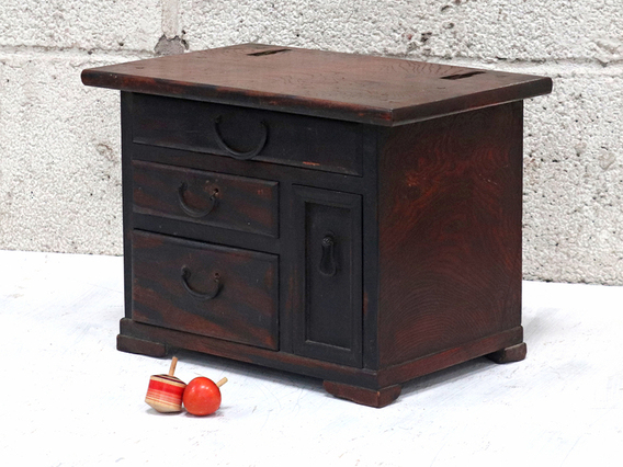 View our  Small Japanese Chest of Drawers - Keyaki Tansu from the  Sold collection