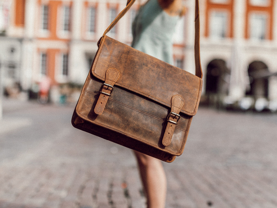 View our Women Small Leather Satchel 13 Inch from the Women Leather Satchels & Bags collection