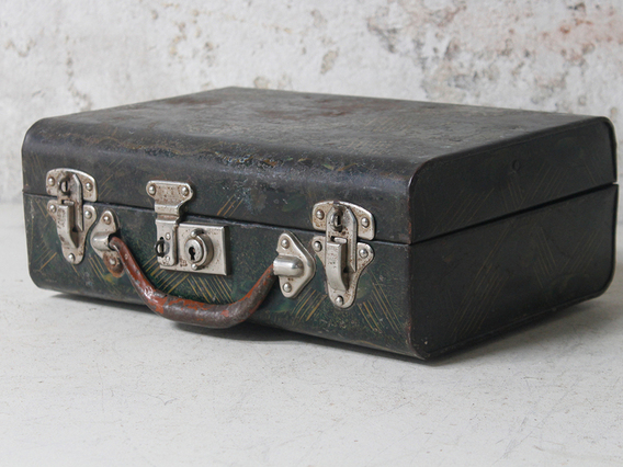 View our  Metal Suitcase from the   collection