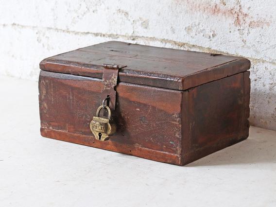 Small Wooden Trinket Box