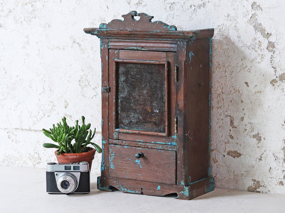 View our  Vintage Wall Cabinet from the  Hallway collection