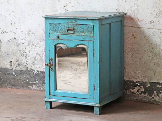 View our  Blue Cabinet from the   collection