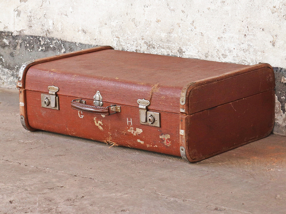 View our  Steamer Suitcase from the  Old Travel Trunks collection