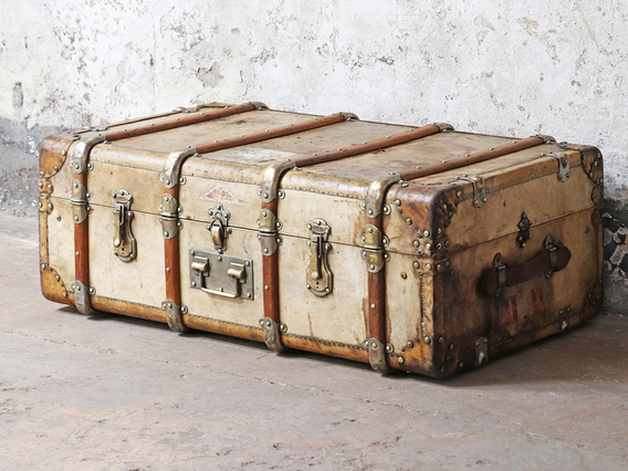 View our  Steamer Trunk by MalleAuto  from the  Sold collection