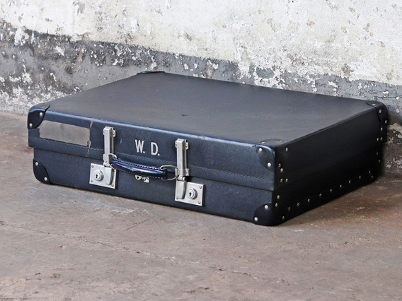 View our  Blue Vintage Suitcase by Revelation from the  Display Cabinets collection