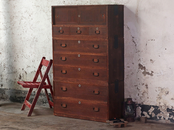 View our  Ryobiraki Kasane Dansu Chest of Drawers from the  Sold collection