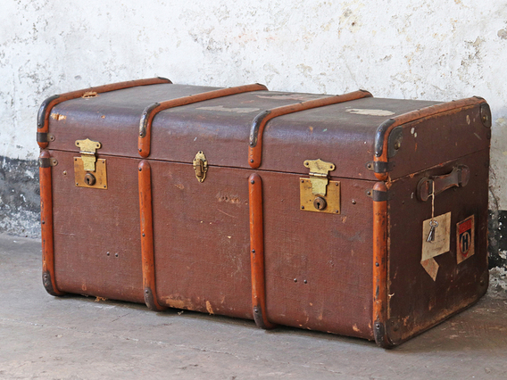View our  Vintage Trunk from the  Old Travel Trunks collection
