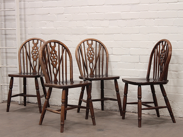 View our  Ercol-Style Elm Dining Chairs (Set of 4) from the   collection