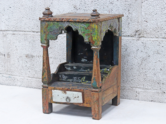 View our  Vintage Green Temple Cabinet from the  Sold collection