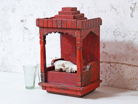 View our  Red Temple Cabinet from the   collection