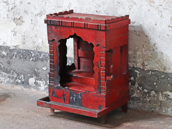 View our  Red Temple Display Cabinet from the   collection