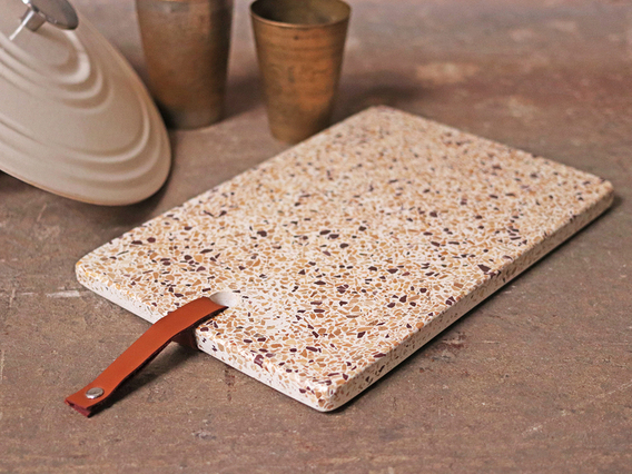 View our  Terrazzo Cheese Board from the   collection