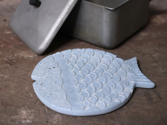 View our  Terrazzo Fish Trivet from the   collection