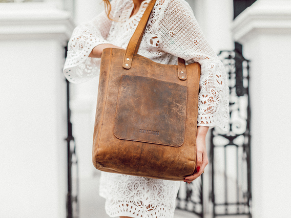 View our Women The Britt Tote Bag from the Women Leather Satchels & Bags collection
