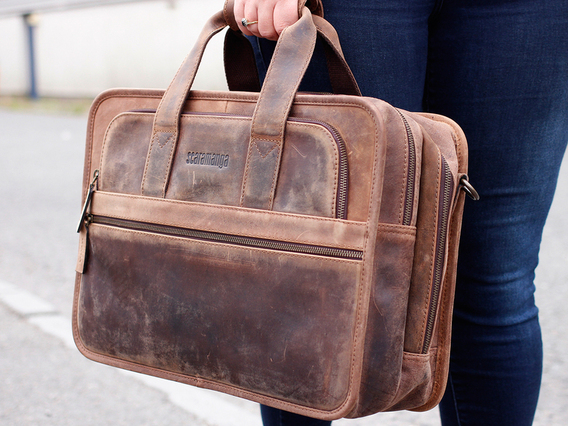 View our  The Cityscape Laptop Bag from the  Landing Pages collection
