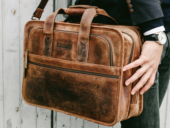 The Cityscape Laptop Bag