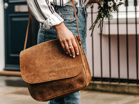 View our Women The Ella Saddle Bag from the Women  collection