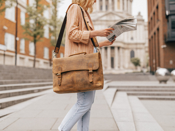 View our  The Hamilton Women's Briefcase from the  Business Bags collection