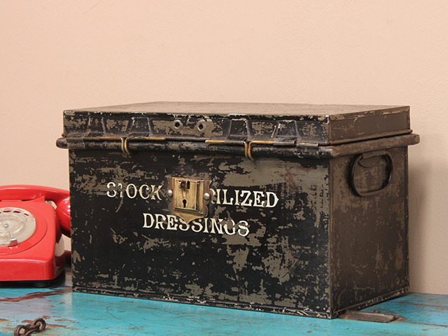 View our  Vintage 1930s Metal Box from the   collection