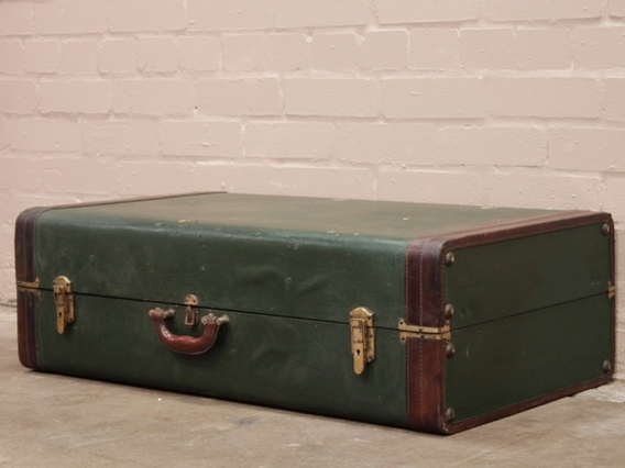 View our  Vintage Wardrobe Trunk from the  Vintage Suitcases collection