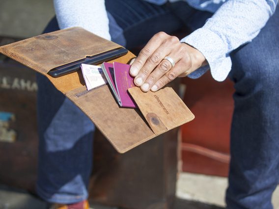 View our  Travel Wallet from the  Travel Gifts collection