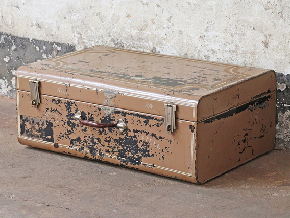 View our  Vintage Brown Travel Trunk from the   collection