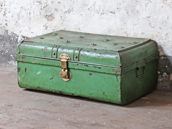 View our  Green Travel Trunk from the   collection