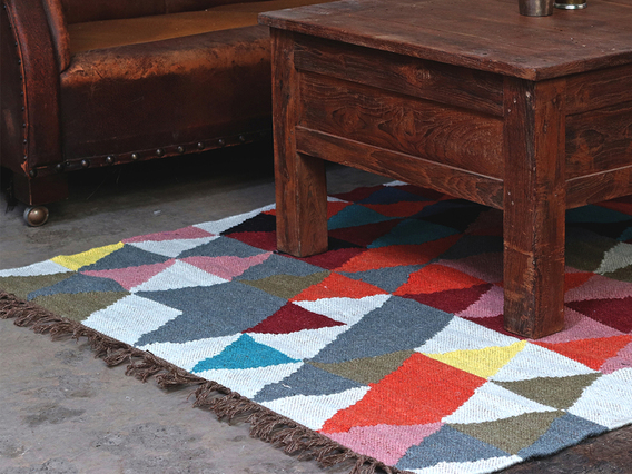 View our  Woven Wool Rug from the   collection