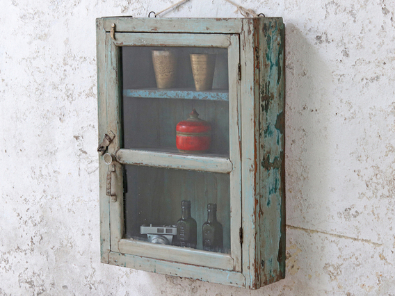 View our  Pale Blue Wall Cabinet from the  Sold collection