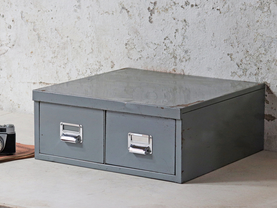 View our  Twin-Drawer Vintage Filing Cabinet from the   collection