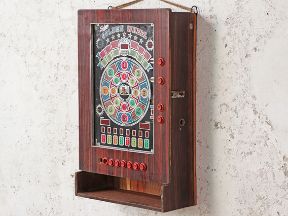 View our  Upcycled Vintage Arcade Cabinet from the  Hallway collection