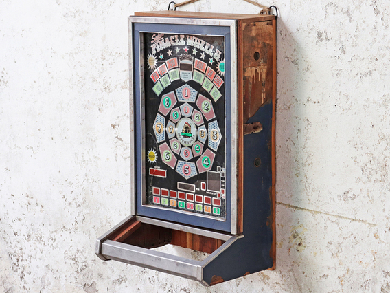 View our  Upcycled Vintage Game-Machine Cabinet from the   collection