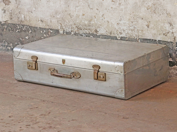 View our  Vintage Aluminium Suitcase from the   collection