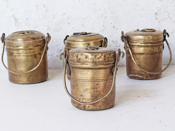 View our  Vintage Brass Canister from the   collection