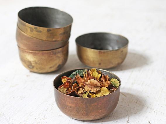 Vintage Brass Bowl (Small)