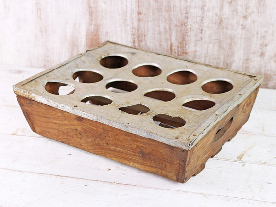 Vintage Chai Cup Tray