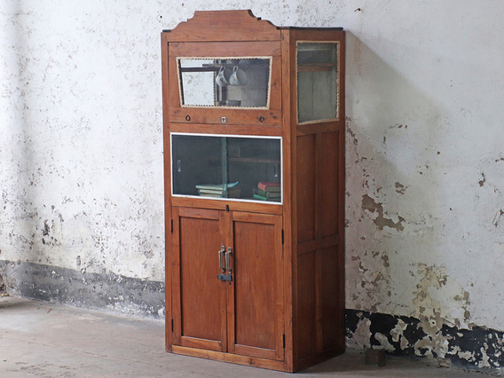 View our  Vintage Shop Cabinet from the  Kitchen  collection