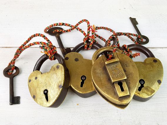 View our  Vintage Love Lock from the   collection