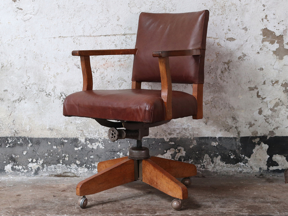View our  Vintage Office Chair By Hillcrest from the  Sold collection