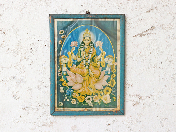 View our  Vintage India Print - Lakshmi from the  Sold collection