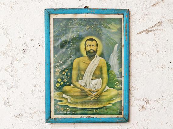 Vintage Print - Ramakrishna Paramhansa